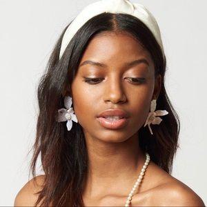 NWT Anthropo Lele Sadoughi small lily earrings